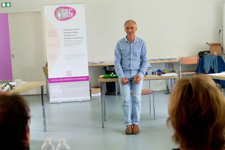 Gilles Pentecôte Psychologie Positive Ecole du Positif Rennes